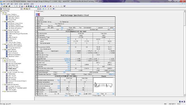 Calcoli Termici e Dimensionamento di Scambiatori di Calore